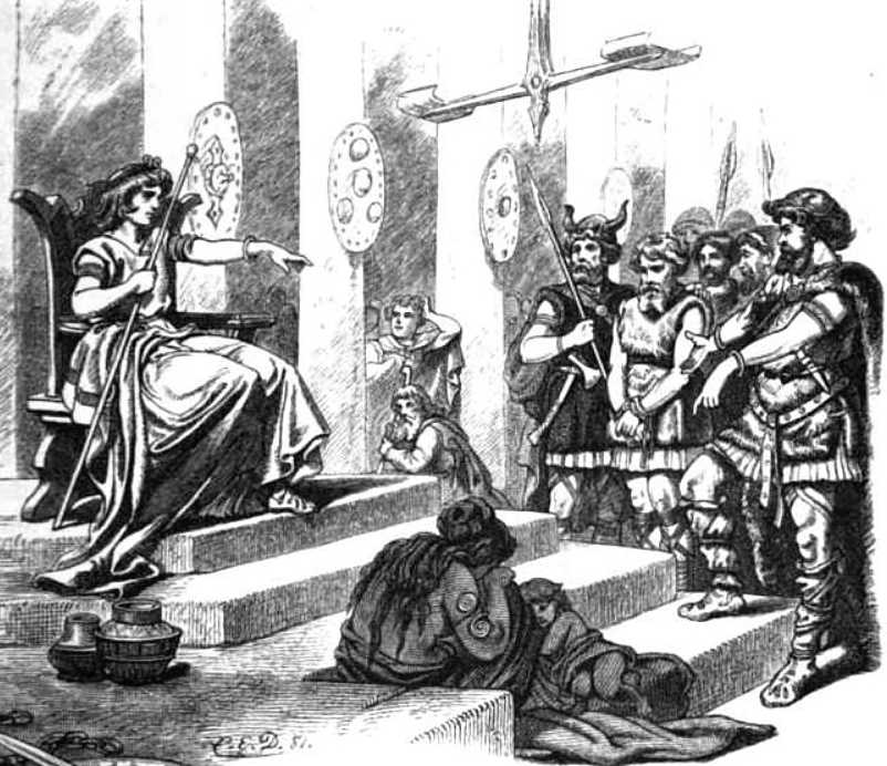 Forseti - Norse God of Justice - In Court