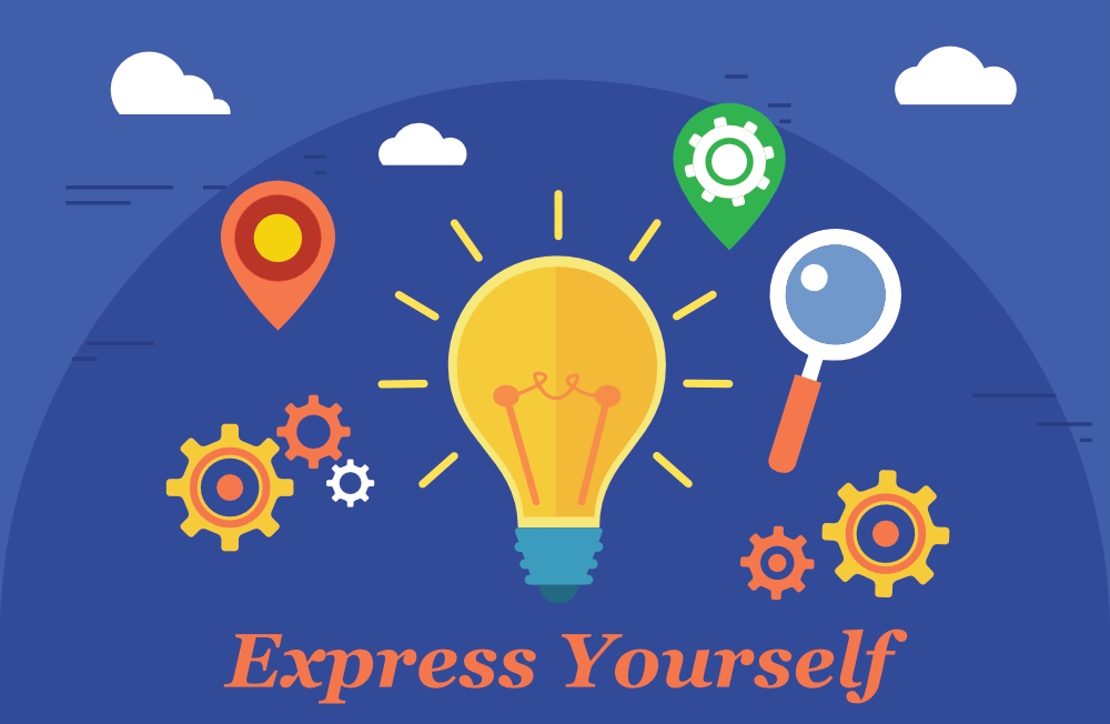Illusration of self expression