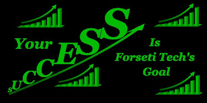 Charts showing Forseti Tech clients success